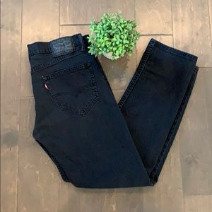 Levi's 511 black wash